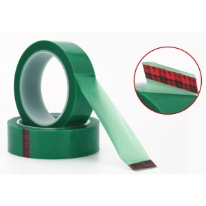 3M 851 Circuit Plating Tape PET Hijau Tape untuk Circuit Board Percetakan