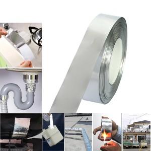 Hitzebeständiges Aluminiumband mit unleitendem Klebstoff für EMI-Abschirmung