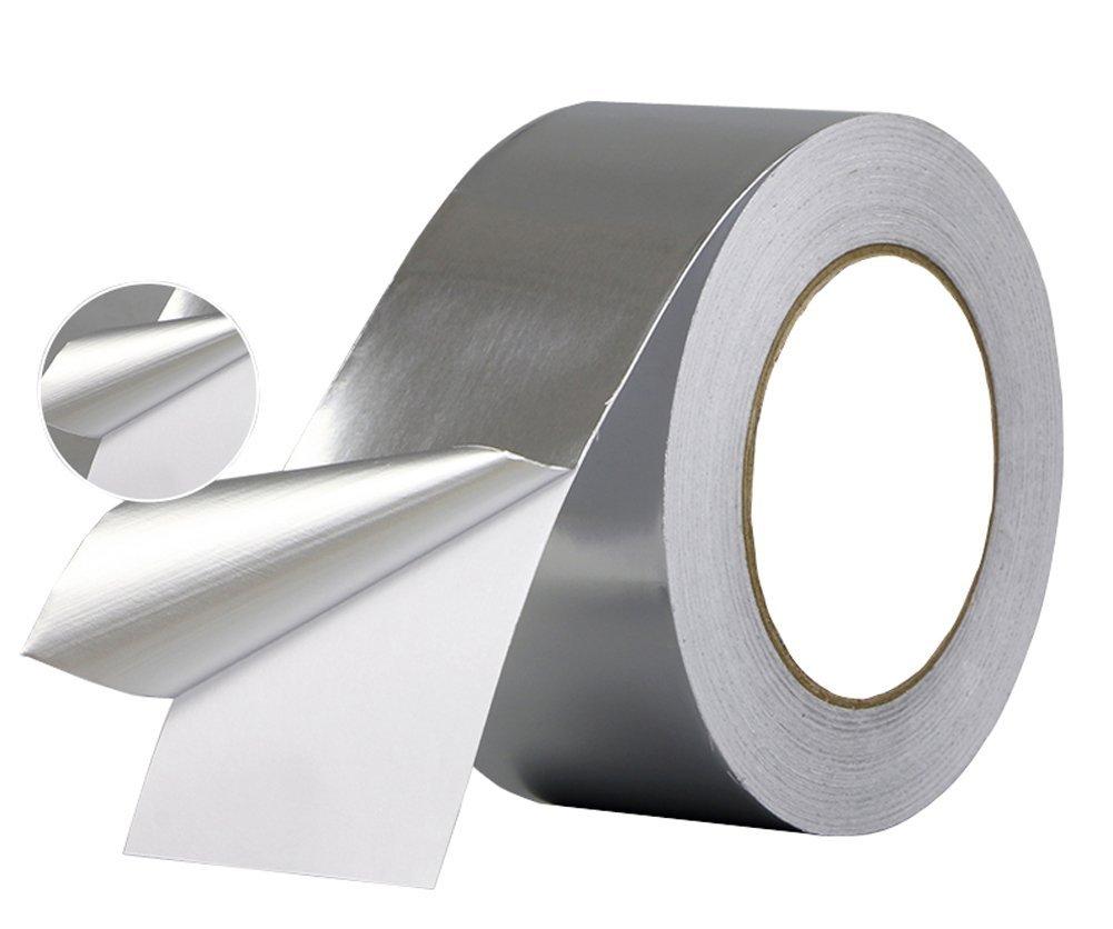 Heat Resistant Aluminum Foil Tape With Nonconductive Adhesive For Emi Shielding