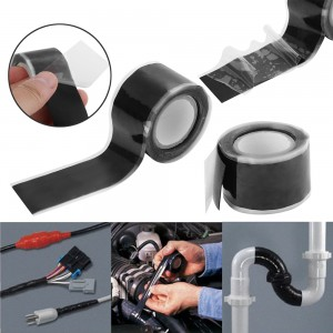 Waterproof Self Adhesive Silicone Ruber Repair Tape for Water Pipe and Cable Seal flex tape.