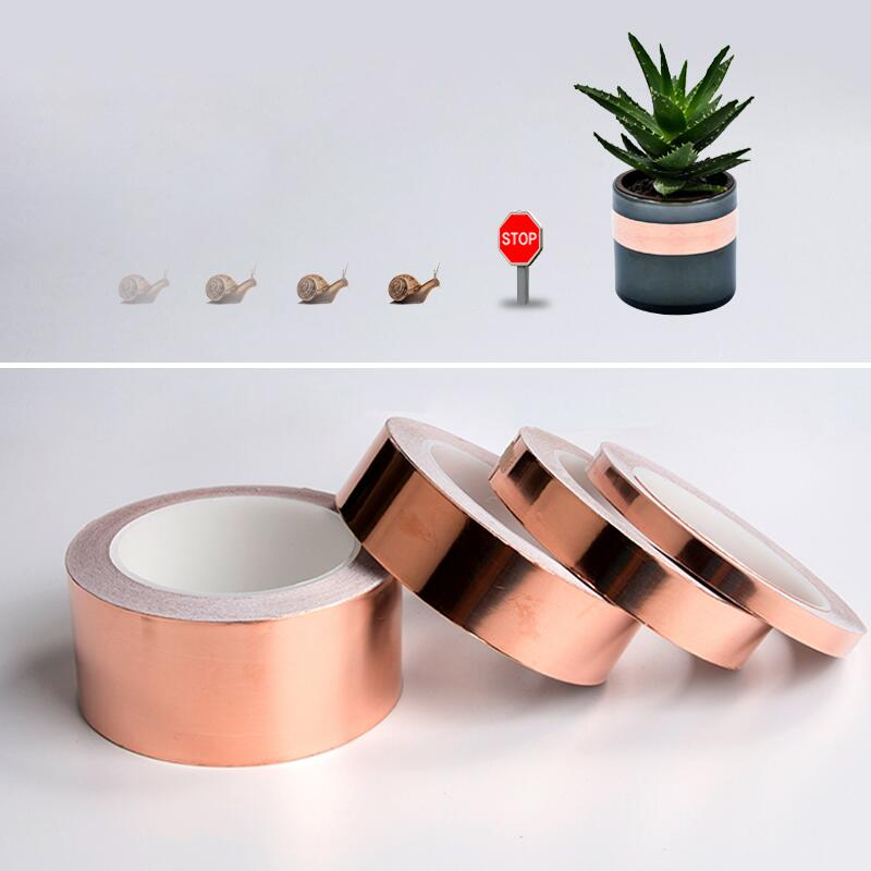 Defenders Slug And Snail Barrier made from Conductive Copper Foil Tape Featured Image