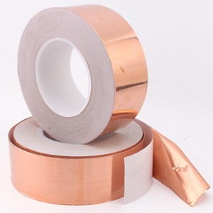Single Side Copper Foil Tape Non Conductive Adhesive with Heat Resistance for EMI Shielding