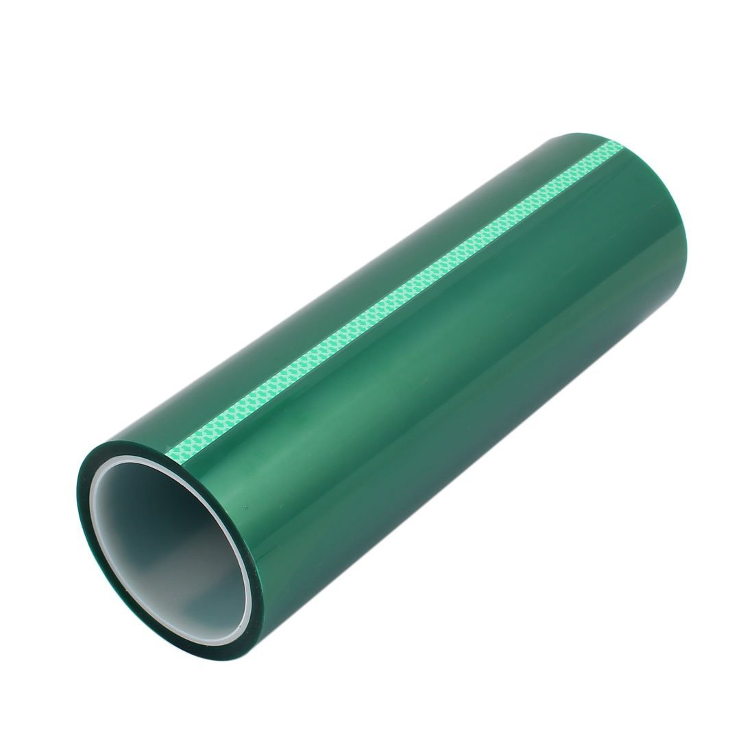 High Temperature green PET Tape Made with  Polyester and Silicone for Powder Coating and Masking Featured Image