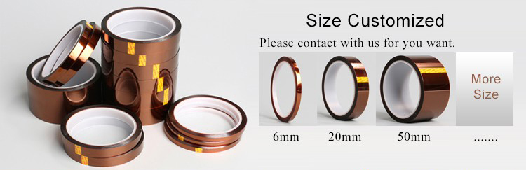 Polyimide tape customized size