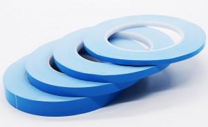 Стекловолокно Тепловой Проводящая лента для теплоотвода рыхлого LED, LCD, CPU и т.д.