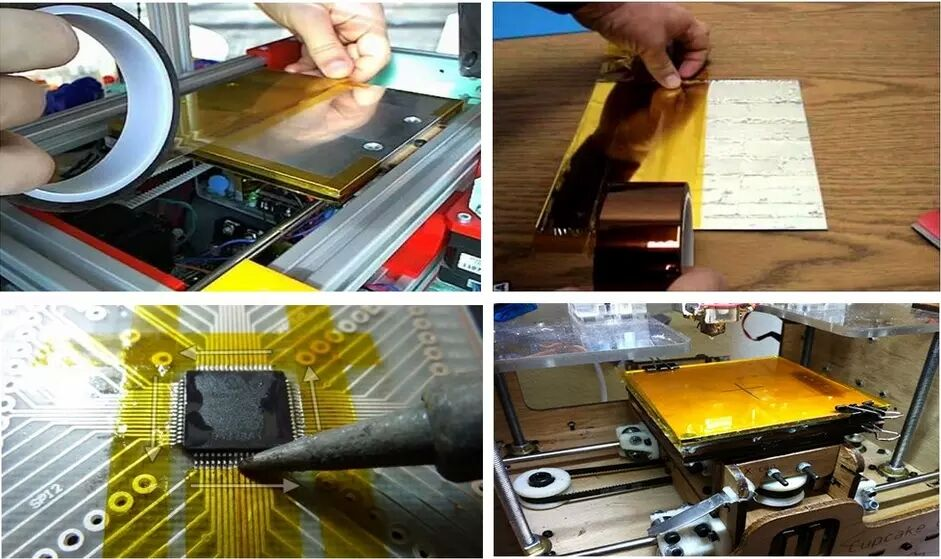 3m 5413 kapton tape application