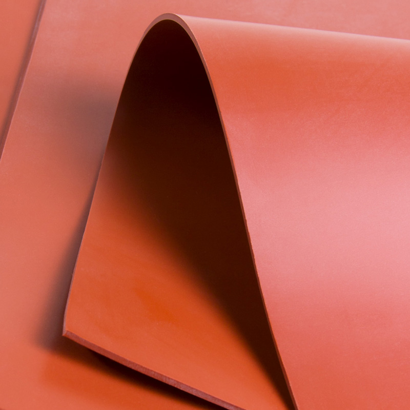 Commercial Grade Solid Silicone Sheet With Low Compression