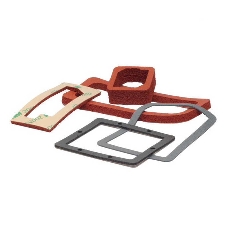 Die Cutting Silicone Sponge Gasket Sheet for Seals, Press Pads, Thermal Insulating Featured Image