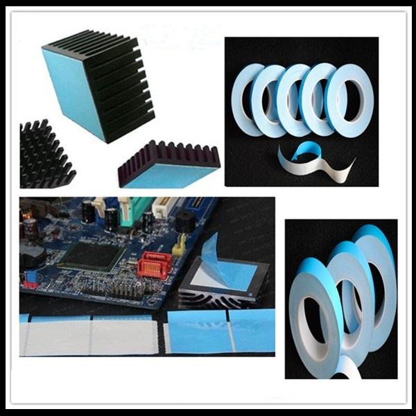 3M8805 8810 8815 Dobbeltsidet Termisk ledende selvklæbende Transfer Tape til LED og CPU Iphone Featured Billede