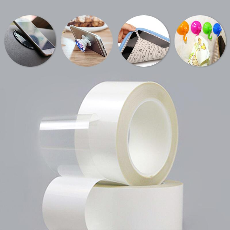 Removable Washable Grip Reusable Tape for Hook, Photos, Phone Holder and Carpet, Easy Grip PU GEL Featured Image