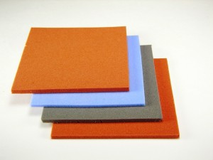 Die Cutting Silicone Sponge Gasket Sheet for Seals, Press Pads, Thermal Insulating