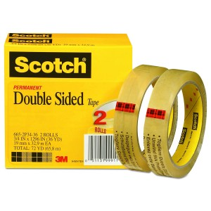 3M Verwyderbare Repositionable Tapes 665, 666, 9415PC, 9416, 9425, 9425, 9449S Geen Residu