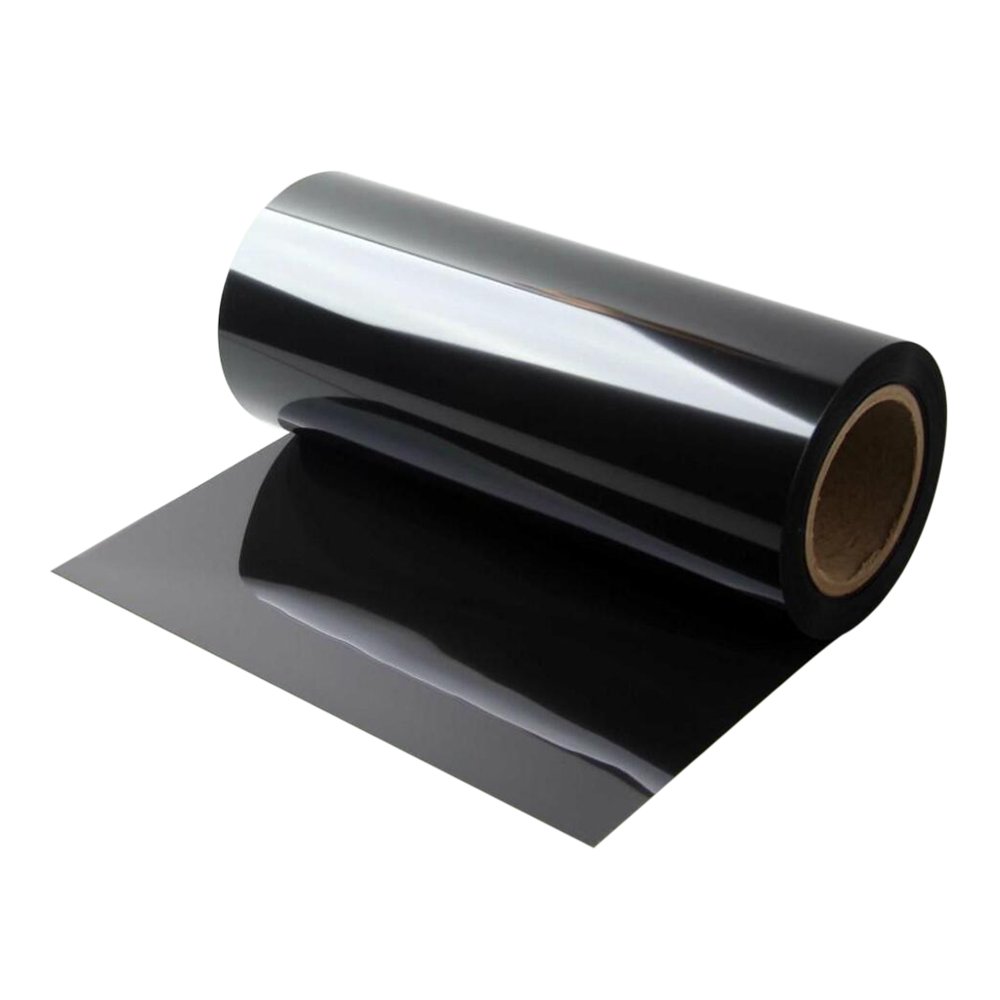 Ultra-thin matte black color anti-fingerprint PET film with single-coated adhesive tape facilitate heat sink and Shading light of thinner electronic equipment Featured Image