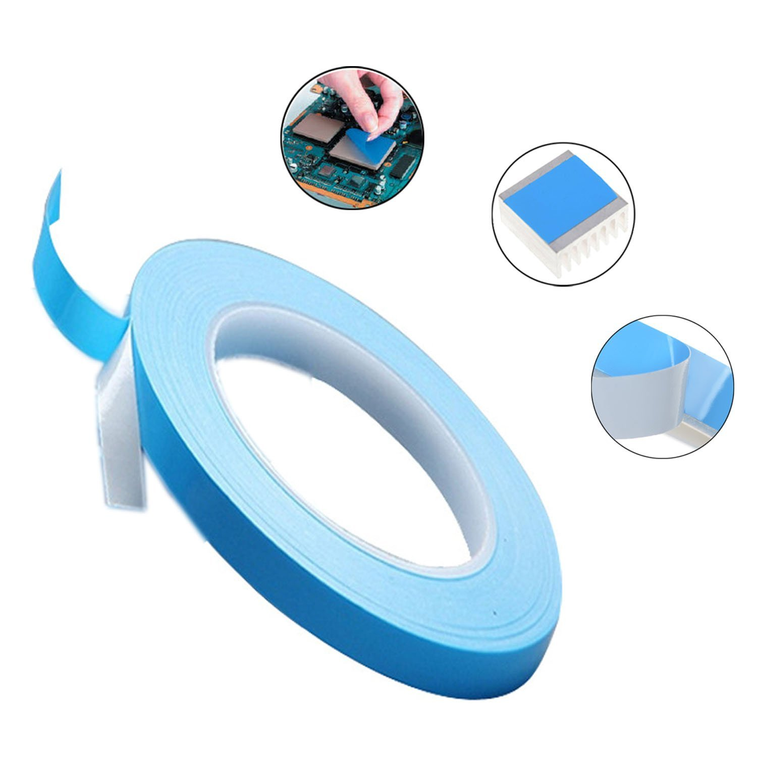 Fiberglass Thermal Conductive Tape for Heat Sink pad of LED, LCD, CPU etc Featured Image