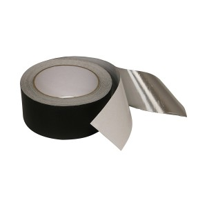 Matte Black Aluminum Foil Tape with Acrylic adhesive for Heat and Light Absorption
