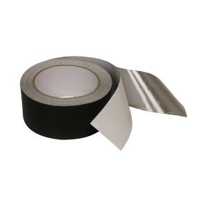 Mattschwarz Aluminiumfolie-Klebeband mit Acrylkleber für Wärme und Lichtabsorption