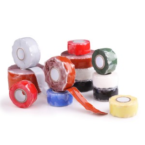 Miracle Wrap Self Fusing Silicone Rubber Electrical Tape for Protecting High Voltage Cables
