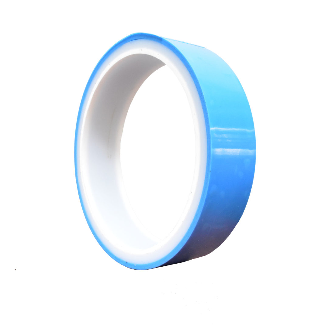 Blue Bicycle Tubeless Rim Tape with Good Stretch and Seal for Road Bike Featured Image